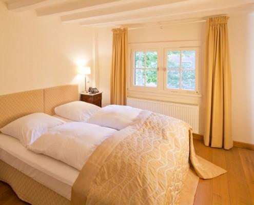 Schlafzimmer im Fürstenzimmer Alexandrina – Schloss Wissen