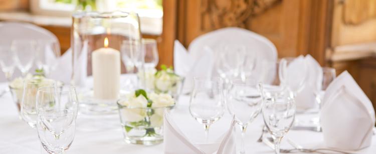 Hochzeitsfeier auf Schloss Wissen