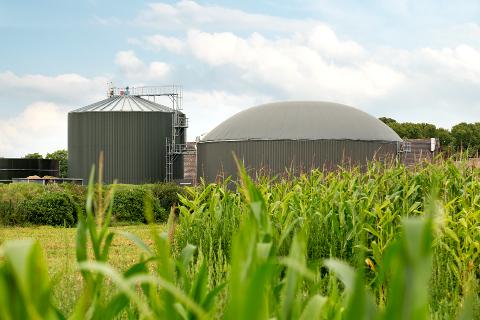 Biogasanlage Schloss Wissen