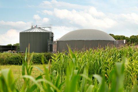 Biogasanlage Gutsbetrieb
