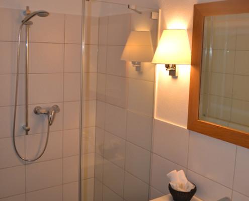 Badezimmer im Ritterzimmer Bruen – Schloss Wissen