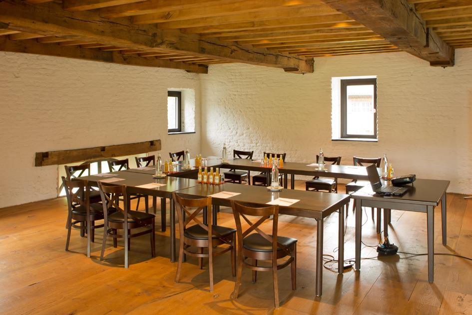 Tagungshotel Schloss Wissen – Mühlraum in der Historischen Wassermühle