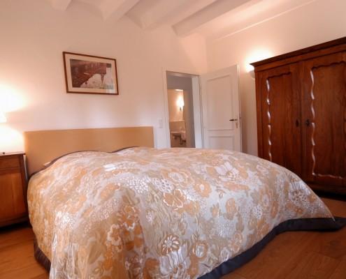 Schlafzimmer im Fürstenzimmer Clemens – Schloss Wissen