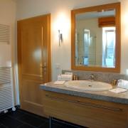 Badezimmer im Fürstenzimmer Edmond – Schloss Wissen