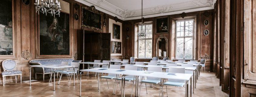 Großer Tagungs- und Veranstaltungsraum auf Schloss Wissen