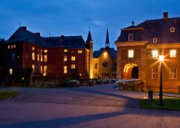 Schloss Wissen am Abend