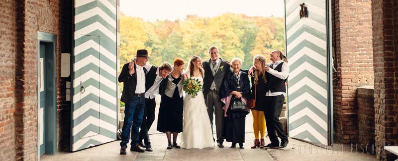 Hochzeit auf Schloss Wissen