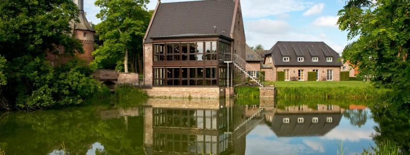 Historische Wassermühle mit Nierskabinett
