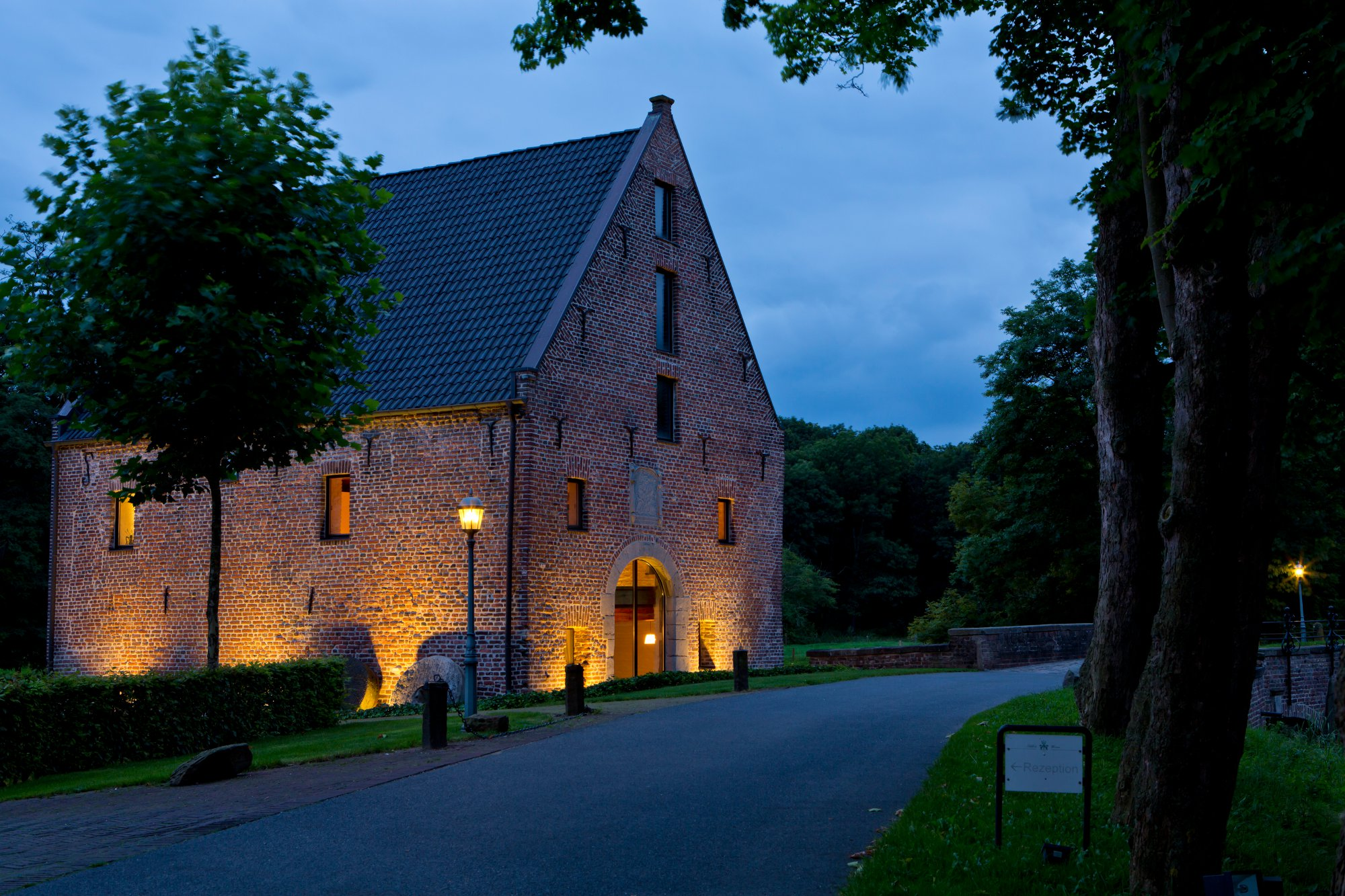 Wassermühle Schloss Aussenansicht
