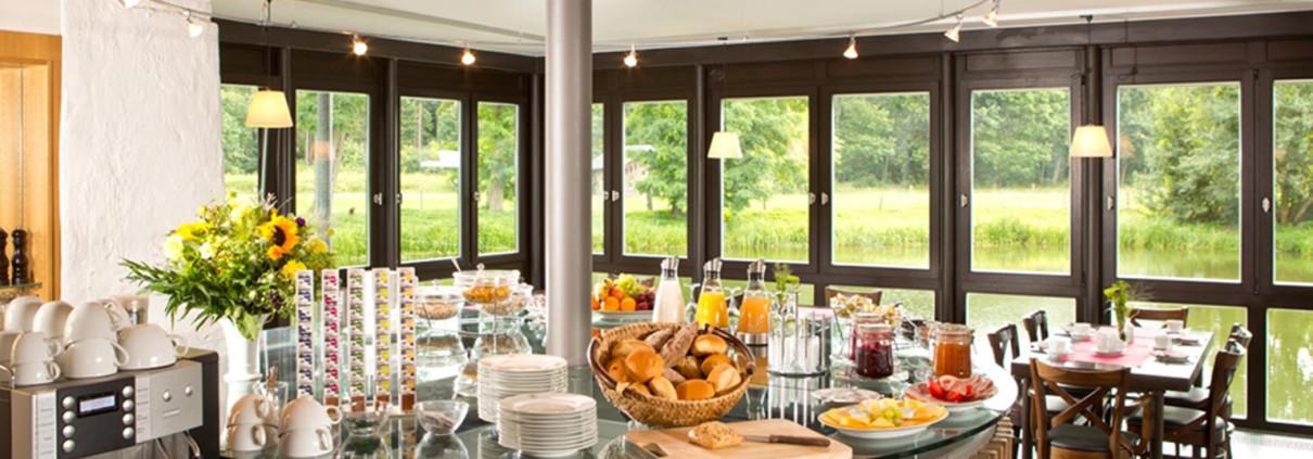 Frühstück in der Alten Wassermühle