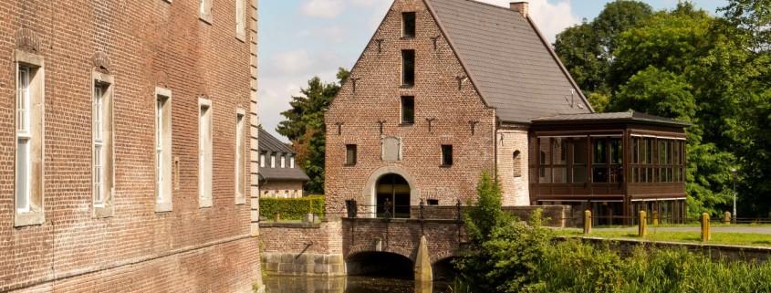 Historische Wassermühle Schloss Wissen