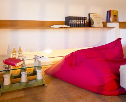 Gemütliche Leseecke im Prinzessinenturm – Schloss Wissen