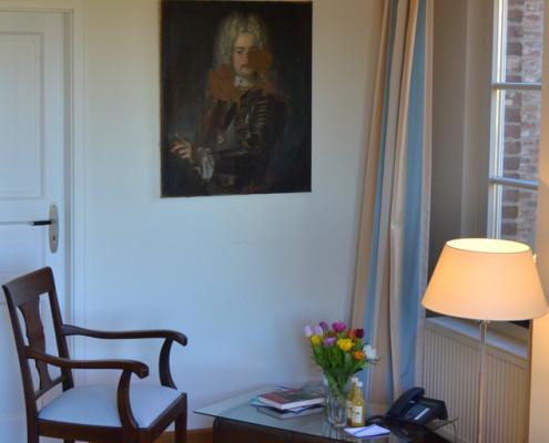 Ritterzimmer Lisbeth – Doppelzimmer auf Schloss Wissen