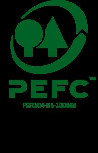PEFC Logo - nachhaltige Waldwirtschaft