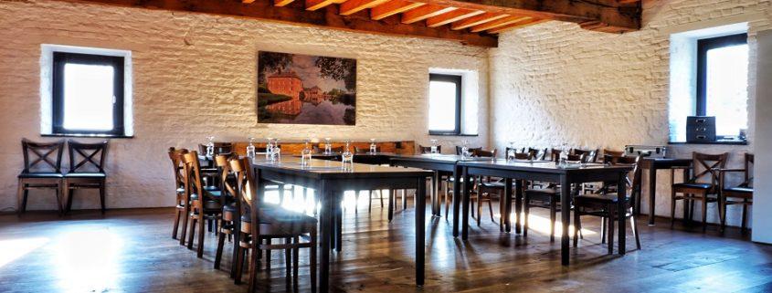 Raum für Seminare im Nierskabinet, Schloss Wissen