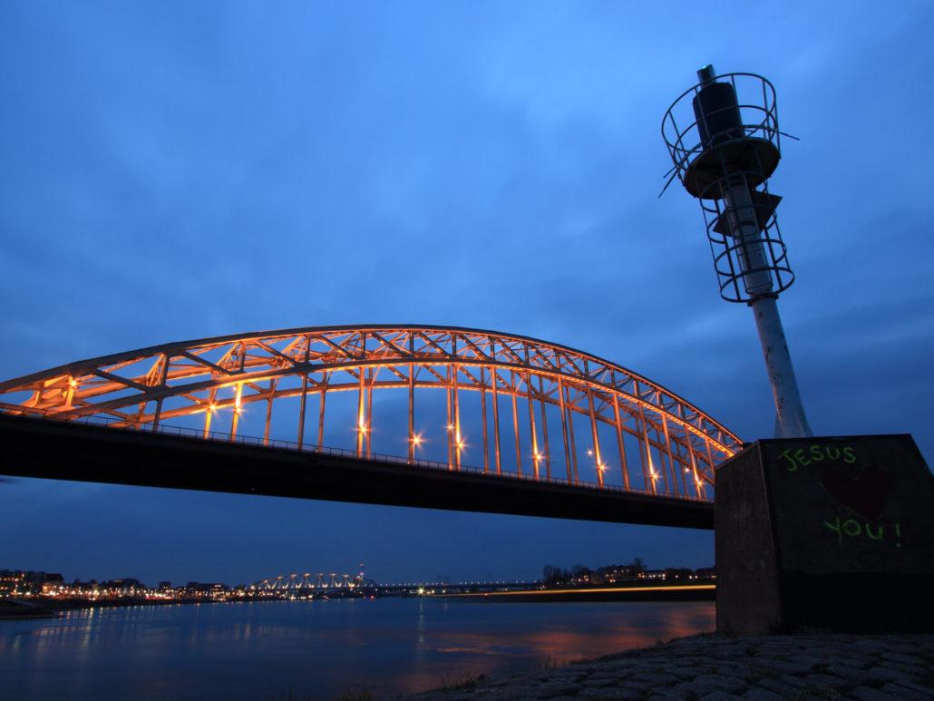 Nijmegen an der deutsch-neiderländischen Grenze