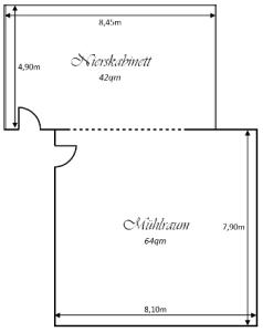 Grundriss Tagungsräume Wassermühle