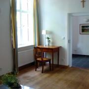 Eingangsbereich und Wohnraum im Fürstenzimmer Sophia – Schloss Wissen