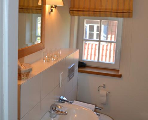 Badezimmer im Fürstenzimmer Tante Wirtz – Schloss Wissen