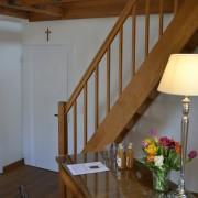 Wohnraum mit Empore im Fürstenzimmer Wessel – Schloss Wissen