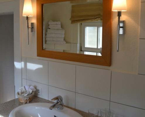 Badezimmer im Fürstenzimmer Wessel – Schloss Wissen